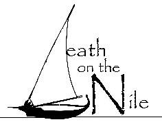 LOGO DEATH ON THE NILE